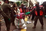 Langgar PSBB, Pedagang Pasar Jiung Kemayoran Diberi Sanksi Tegas