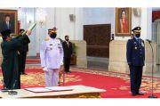Presiden Jokowi Lantik KSAL dan KSAU