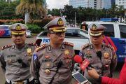Razia Larangan Mudik, Polisi Amankan Bus Berstiker Kemenhub
