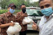 Pandemi Covid-19, Rizal Djibran Ikut Bagikan 100 Paket Sembako