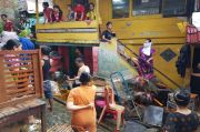 Banjir Surut, Polres Lubuklinggau Tetap Siagakan Anggotanya