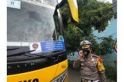 Kecoh Polisi, Sejumlah Bus Gunakan Stiker dan Barcode Palsu untuk Bebas Mudik