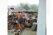 Puting Beliung Rusak Ratusan Rumah di Tulang Bawang Lampung, 1 Tewas