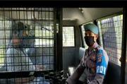 Ditangkap Provost, Oknum Polisi yang Lawan Petugas karena Tak Pakai Masker Minta Maaf