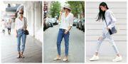 Cuma Modal Baju Putih, Ini Inspirasi Gaya Simpel Seleb untuk Instagram Kamu