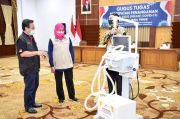 Gubernur Khofifah Serahkan 40 Ventilator dan CPAP ke 20 RS Rujukan