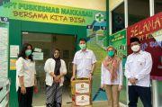 Gerindra Makassar Bagi-bagi Masker dan Paket Sembako
