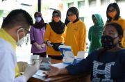 250 Warga Ikut Rapid Test di Makodim Makassar, Hasilnya 7 Reaktif Corona