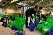 Pandemi Corona, KCN Bagikan Sembako, Masker dan Hand Sanitizer