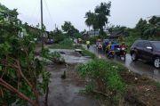 233 Rumah Warga Kabupaten Tulang Bawang Rusak Akibat Diterjang Puting Beliung