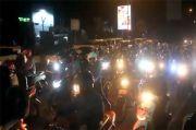 Jalur Pantura Cirebon Penuh Motor, Tol Cipali Sepi