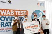 Menteri BUMN Apresiasi BNI Gelar 30.000 Tes Swab Gratis