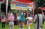 Gelar Pasar Murah, Polres Lubuklinggau Gunakan Protokol COVID-19