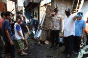 Tinjau Lokasi, Wali Kota Jakut Jamin 198 Korban Kebakaran