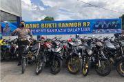 Balap Liar Marak selama Ramadhan, Polres Lombok Timur Sita Ratusan Motor