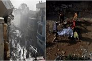 Video Pesawat Pakistan Jatuh Mirip Medan Perang, 42 Jasad Ditemukan