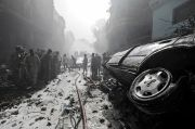 97 Tewas dalam Kecelakaan Pesawat Jatuh di Pakistan