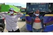 BIN dan Bawaslu Kota Semarang Bagi-bagi Masker