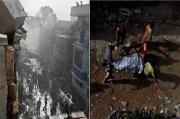 Pesawat Pakistan Jatuh, 42 Jasad Ditemukan