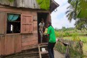 3 Rumah yang Roboh Akibat Puting Beliung Dapat Bantuan Sembako
