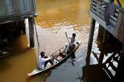 Sedih, Warga Muratara Berlebaran di Tengah Banjir dan Pandemi COVID-19