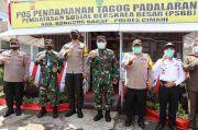 Ketika Kapolda Jabar dan Pangdam Berlebaran di Pospam Operasi Ketupat Lodaya 2020