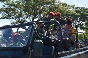 Kapolda Jateng Serahkan Bantuan 900 Karung Beras untuk Kopassus