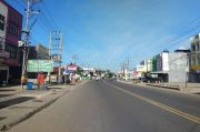 Hari Pertama Lebaran, Suasana Jalan Kota Lubuklinggau Lengang