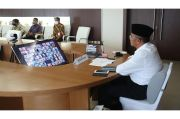 Muhadjir Effendy Halalbihalal Virtual dengan Pegawai Kemenko PMK