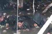 Pesta Miras Saat Pandemi Corona, Babinsa Rendam 8 Remaja di Kolam Air Kotor