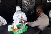 Rentan Tertular, 121 Personel Polda Papua Ikuti Rapid Test COVID-19
