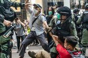 Protes UU Keamanan China di Hong Kong, 300 Orang Ditangkap