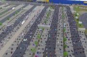 Indahnya Toleransi di Jerman, Ikea Pinjamkan Tempat Parkir untuk Salat Id