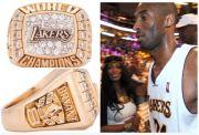 Cincin Kontroversial Kobe Bryant Resmi Terjual Rp2,8 Miliar