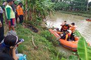Terpeleset, Pencari Rumput Tenggelam di Sungai Kalisabuk Cilacap