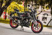 Selamat Pagi Bikers, Suzuki Modifikasi Ini Jadi Penantang Yamaha XSR155 dan Honda CB150R Exmotion