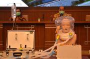 Periset Gunadarma Ciptakan RoboHelm yang Efektif Perangi COVID-19