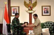 Usai Dilantik, KSAL Laksamana TNI Yudo Margono Temui Prabowo Subianto