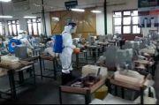 Usai Rapid Test Massal, Pabrik Rokok di Madiun Disterilisasi