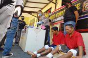 100 Kali Beraksi, Pangki Suwito dan Adiknya Keok Ditembak Polisi