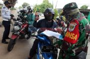 Tanpa SIKM, Ratusan Pemotor Asal Sumatera Diputarbalikkan