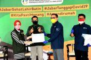 YCAB Foundation-Yayasan Panatik Jabar Serahkan Bantuan APD kepada Jabar Bergerak