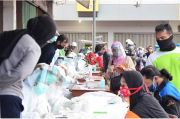 Rapid Test Ratusan Pedagang-Pembeli Pasar Salatiga, 9 Reaktif COVID-19