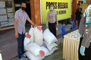 Gelapkan Beras Bantuan COVID-19, Tiga Sopir Truk Ditangkap Polisi
