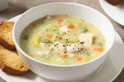 Sup Krim Ayam Kentang, Bikin Pagi Anda Lebih Istimewa