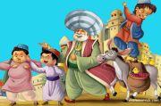 Abu Nawas Mencari Ibu Angkat, Baginda Tekor Seratus Dinar