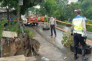 Curah Hujan Tinggi, Jalan Pematangsiantar Menuju Tapanuli Terancam Amblas