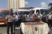 Terjaring Patroli Biru, 13 Travel Gelap Diamankan di Depok