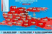 Surabaya Zona Hitam Covid-19, Ini Kata Gubernur Khofifah