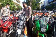Dipakai Balap Liar Saat PSBB, Puluhan Motor Disita Polda Jatim
